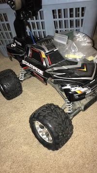 Black and red rc monster truck Tarpon Springs, 34689