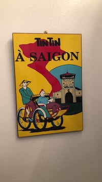 tintin painting Washington, 20037
