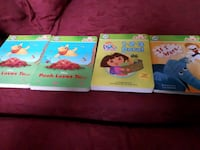 4 assorted learning books collection Toronto