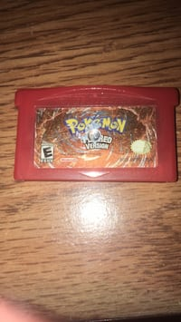 Pokemon fire Red version ( the cover is messed up but the game works fine ) Markham, L3R 7G9