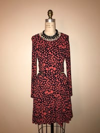 red and black long-sleeved dress Falls Church, 22044