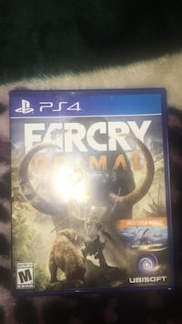 Farcry Primal PS4 game case