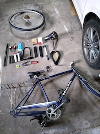 Mix and match bicycle parts