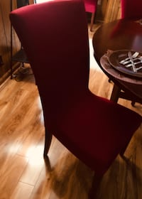 Dining set with 6 chairs and a lazy susan.  CLARKSVILLE