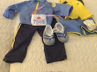 Two-in-one Running Set American Girl Doll Milford, 03055