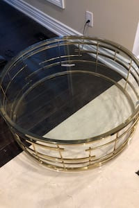 BN Gold accent round coffee table  Mississauga, L5L 3K3