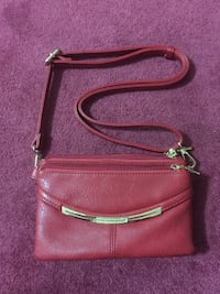 red leather crossbody bag Mississauga, L5N 5P8