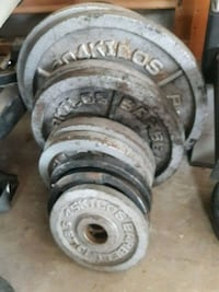 Olympic weights dumbells medicine ball wieght vest Dade City, 33523