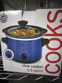 blue and black Cooks slow cooker box Frederick, 21702