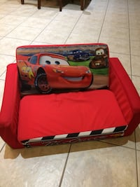 Cars Kids Fold Out Sofa Caledon, L7E