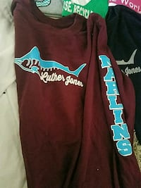 Luther Jones Elm. Shirts - Youth Med