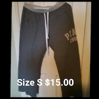 black and grey victoria's secret drawstring sweatpants London, N5V 1E4