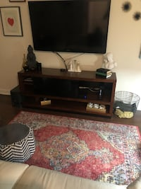 Brown wooden tv stand  Suitland, 20746