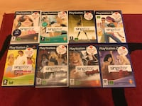 assorted PlayStation 2 games in cases in very good condition  Croydon, CR0 2UL