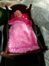 Crib mattress and doll Rocky Point, C0A 1H2