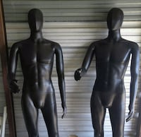 2 store mannequins with bases New Bedford, 02745