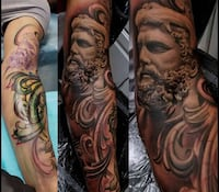 Mobile Tattoo Artist & Tattoo Shop In Laplata Maryland  Waldorf, 20601
