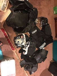 Hockey (mostly goalie)equipment