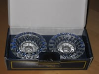 NEW - Genuine Crystal Candlestick Candle Holder Set Calgary
