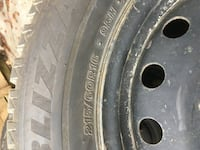 Winter Snow Tires and Rims 215/60R16 Toronto, M4W