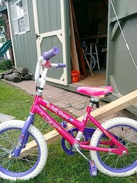 toddler's pink and purple bicycle West Babylon, 11704
