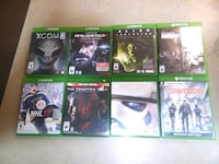 Xbox one games. Eight games. First 150 takes them. Edmonton, T6V 1X4