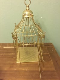 Golden Heart Bird Style Cage - OBO Monrovia, 91016