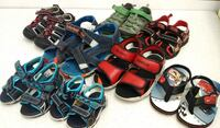 (8F) Kids' sandals sizes up to 7 youth Toronto