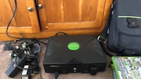 Black xbox with controller games Westland, 48186