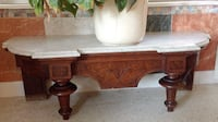 SMALL VINTAGE ANTIQUE MARBLE TOP TABLE Sarasota