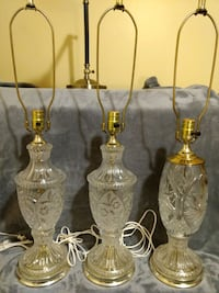 Glass lamps-$20 each