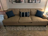 Beige Living Spaces Couch Long Beach, 90807