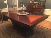 Solid wood dining room table with leaf Woodbridge, 22192
