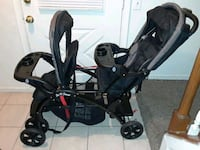 ***BARLEY USED DOUBLE STROLLER*** Silver Spring, 20904