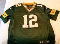 Large Green Bay Packers Jersey - #12 Aaron Rodgers Vancouver, V5K 1A1