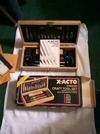 X-Acto Standard craft tool set with box Warrenton