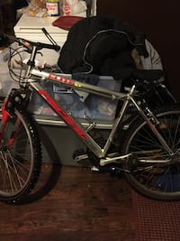 black and red hard tail mountain bike Grand Rapids, 49507