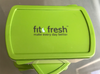 Fit Fresh 2c Containers (4) Silver Spring