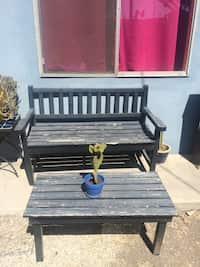 Amazing Used Wood Bench For Sale In Los Angeles Letgo Gmtry Best Dining Table And Chair Ideas Images Gmtryco