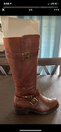 Brown Boots - 6