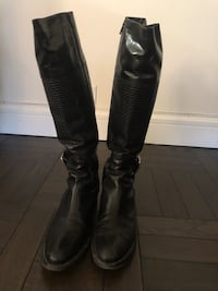 Cole Haan Black Tall Boot - size 10 - gently used New York, 10009