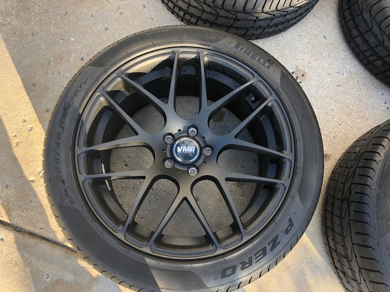 "RIMS ONLY 20"" VMR V710 RIMS 0"