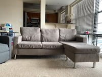 Used Grey Sectional Sofa Bethesda, 20816