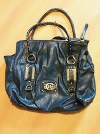 Blue leather 2-way bag Baldwinsville, 13027