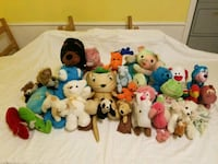 Over 30 small to medium stuffed animals Farmers Branch, 75234