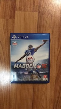 Madden NFL 16 PS4 game case