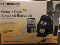 black and gray Medela Pump in Style Advanced box Pitt Meadows, V3Y