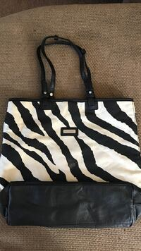 black and white zebra print tote bag Wheatland, 95692