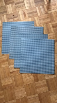 Lego baseplates 10x10. 20$ for all 4