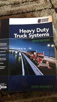 heavy duty truck systems fifth edition textbook by Sean Bennett Reno